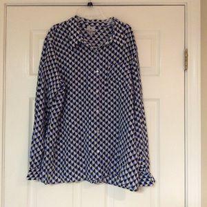Ladies Worthington Blouse XL NWT